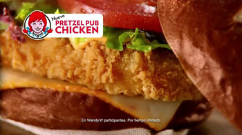Wendy's Pretzel Pub Chicken TV Spot, 'Cautivar' [Spanish] - Thumbnail 8