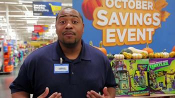 Walmart October Savings Event TV Spot - Thumbnail 1