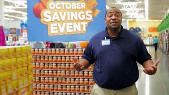 Walmart October Savings Event TV Spot - Thumbnail 10