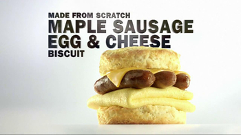 Carl's Jr. Maple Sausage Egg & Cheese Biscuit TV Spot