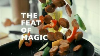 Johnsonville Chicken Sausage TV Spot, 'Magic' - Thumbnail 3
