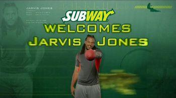 Subway TV Spot, 'Welcome' ft Jarvis Jones, Robert Grffin III, Justin Tuck - 2 commercial airings