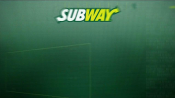 Subway TV Spot, 'Welcome' ft Jarvis Jones, Robert Grffin III, Justin Tuck - Thumbnail 1