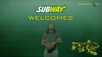 Subway TV Spot, 'Welcome' ft Jarvis Jones, Robert Grffin III, Justin Tuck - Thumbnail 2