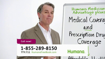 Humana Medical Advantage Plans TV Spot, 'Whiteboard'