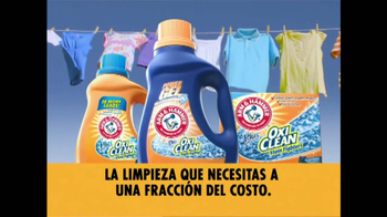 Arm and Hammer Oxi Clean TV Spot  [Spanish] - Thumbnail 8