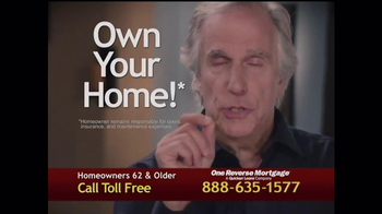 One Reverse Mortgage TV Spot, 'Myths' Featuring Henry Winkler
