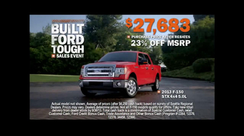 Ford Built Ford Tough Sales Event TV Spot, 'Weekends' - Thumbnail 9