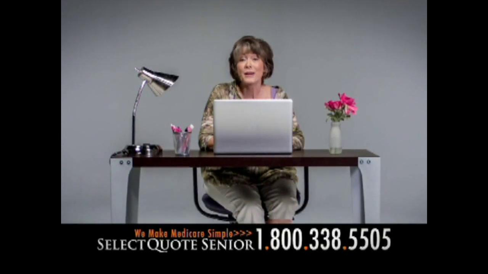 Select Quote Senior Alluring Select Quote Senior Tv Commercial 'medicare Options'  Ispot.tv