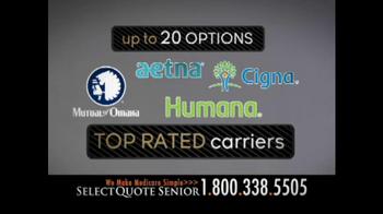 Select Quote Senior TV Spot, 'Medicare Options' - Thumbnail 6