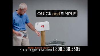 Select Quote Senior TV Spot, 'Medicare Options' - Thumbnail 8