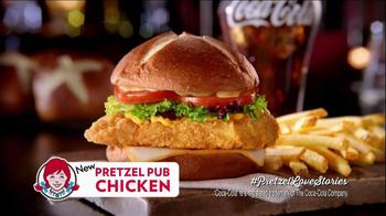 Wendy's Pretzel Pub Chicken TV Spot - Thumbnail 9