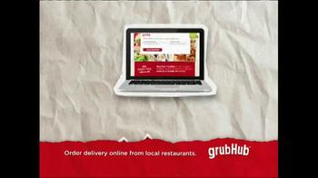 GrubHub TV Spot, 'Dressin' on the Side' - Thumbnail 10