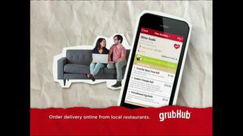 GrubHub TV Spot, 'Dressin' on the Side' - Thumbnail 9