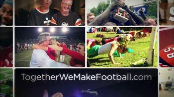 NFL Together We Make Football TV Spot, 'My Football Story' Ft. Sam Gordon - Thumbnail 8