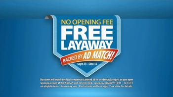 Walmart TV Spot, 'Free Layaway' - Thumbnail 8