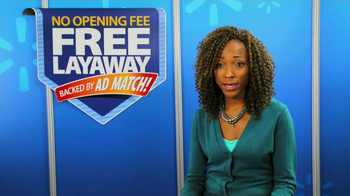 Walmart TV Spot, 'Free Layaway' - Thumbnail 5