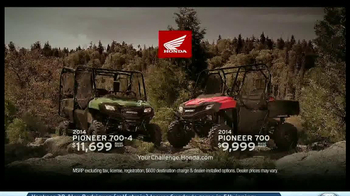 2014 Honda Pioneer 700 TV Spot, 'Mud Season' - Thumbnail 5