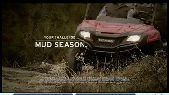 2014 Honda Pioneer 700 TV Spot, 'Mud Season'