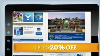BestWestern.com TV Spot, 'Save up to 20%'