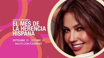 Macy's TV Spot, 'El Mes de la Herencia Hispana ' Con Thalia [Spanish]