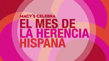 Macy's TV Spot, 'El Mes de la Herencia Hispana ' Con Thalia [Spanish] - Thumbnail 1