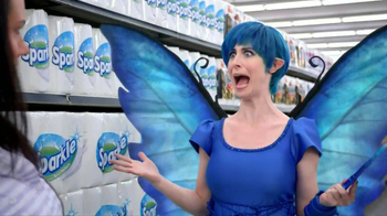 Sparkle Towels TV Spot, 'Fairy' - Thumbnail 6
