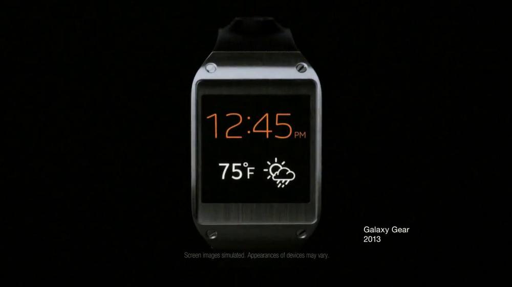Samsung Galaxy Gear Smart Watch Tv Commercial Evolution Ispot Tv