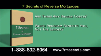 7 Secrets of Reverse Mortgages TV Spot, 'Get the Facts' - Thumbnail 4
