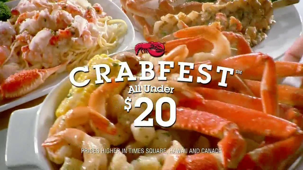 Red Lobster Crabfest Tv Commercial Crab Stuffed