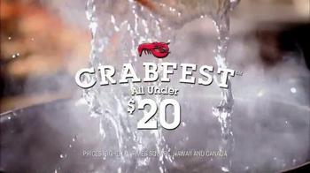 Red Lobster Crabfest TV Spot, 'Crab Stuffed Mushrooms' - Thumbnail 1