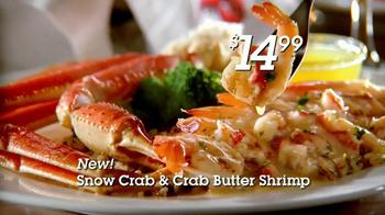 Red Lobster Crabfest TV Spot, 'Crab Stuffed Mushrooms' - Thumbnail 5