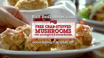 Red Lobster Crabfest TV Spot, 'Crab Stuffed Mushrooms' - Thumbnail 8