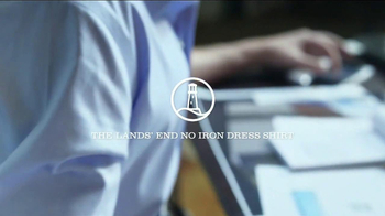 Lands' End No Iron Dress Shirt TV Spot, 'Made to Work' - Thumbnail 8