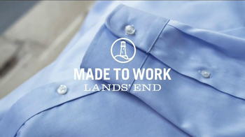 Lands' End No Iron Dress Shirt TV Spot, 'Made to Work' - Thumbnail 1