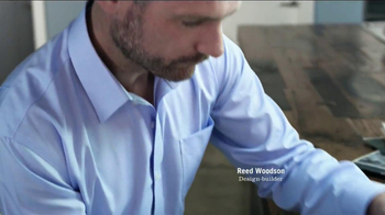 Lands' End No Iron Dress Shirt TV Spot, 'Made to Work' - Thumbnail 4