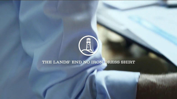 Lands' End No Iron Dress Shirt TV Spot, 'Made to Work' - Thumbnail 7