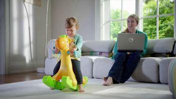 Fisher Price Rockin' Tunes Giraffe TV Spot - 455 commercial airings