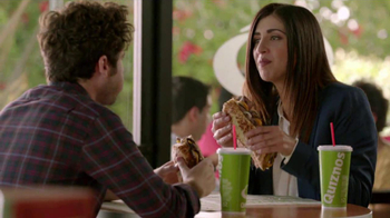 Quiznos Bourbon Steak Sub TV Spot, \'Floasted\'