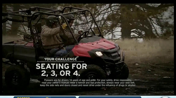 2014 Honda Pioneer 700-4 TV Spot, 'Flip Seating'
