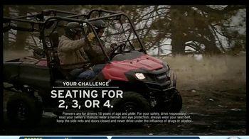 2014 Honda Pioneer 700-4 TV Spot, 'Flip Seating'