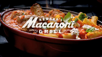 Romano's Macaroni Grill TV Spot, 'New Menu' - Thumbnail 10