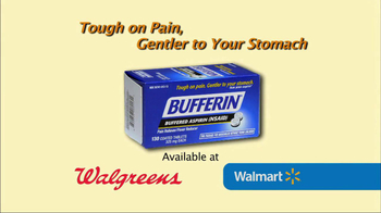 Bufferin TV Spot, 'Non-Steroidal'