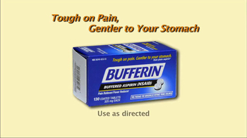 Bufferin TV Spot, 'Non-Steroidal' - Thumbnail 1