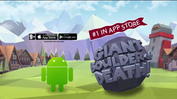 Giant Boulder of Death TV Spot, 'Rolling In' - Thumbnail 4