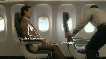 United Airlines Economy Plus TV Spot, 'Configured for Your Comfort' - 562 commercial airings