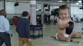 Nationwide Insurance TV Spot, '2014 Baby' Song by Mickey and Sylvia - Thumbnail 10