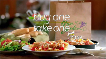 Olive Garden Never End Pasta Bowl TV Spot, 'Buy One, Take One' - Thumbnail 4