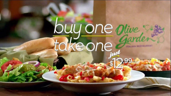 Olive Garden Never End Pasta Bowl TV Spot, 'Buy One, Take One' - Thumbnail 9