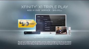 XFINITY X1 Triple Play TV Spot, 'Triple the Speed' Featuring Tony Stewart - Thumbnail 8